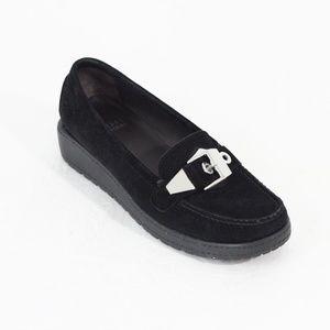 Stuart Weitzman Wedge Loafer Women Slip on Shoe